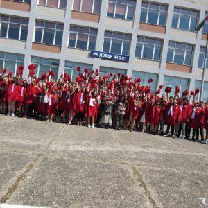 """Церемония по димпломиране на випуск 2020 в НПГ """"Димитър Талев"""""""