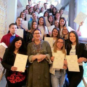 Достойно представяне на учениците от НПГ в IV Европейска олимпиада по статистика