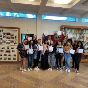 Ученици от НПГ сертифицирани по Проект Skills 4 Smart TCLF