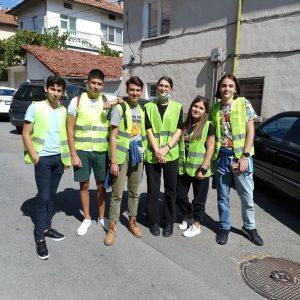 """Ученическият парламент на НПГ """" Д.Талев"""" взе участие в Европейската седмица на мобилността"""